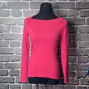 Banana Republic Pink Merino Wool Sweater Sz XS